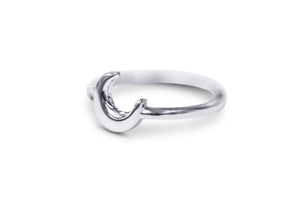 Crescent Moon Ring - Sydney Rosen