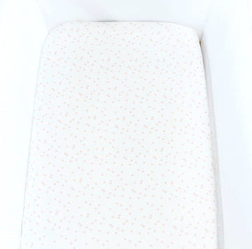 Silk bassinet sheet, baby bald spot, baby bedding