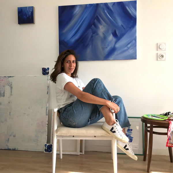 Studio Visit with Laura - Celina Gasse