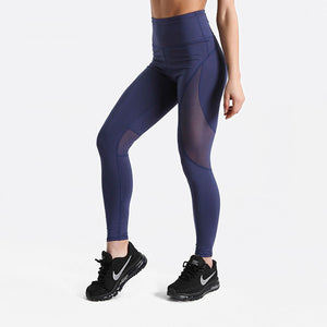 Blue and Shear Leggings