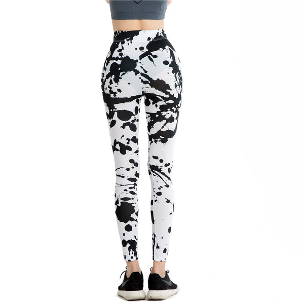 Splash Patterned Leggings