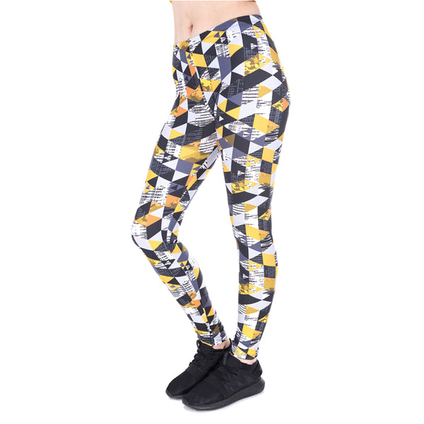 Triangle Abstract Leggings