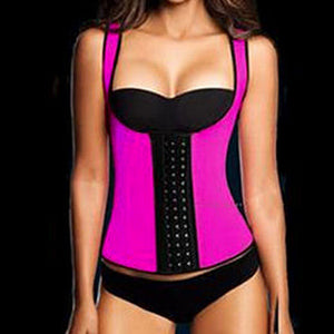 Waist Training Vest Colored 3 Hooks