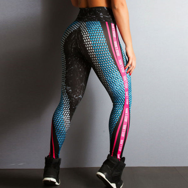 Honeycomb Gradient Leggings
