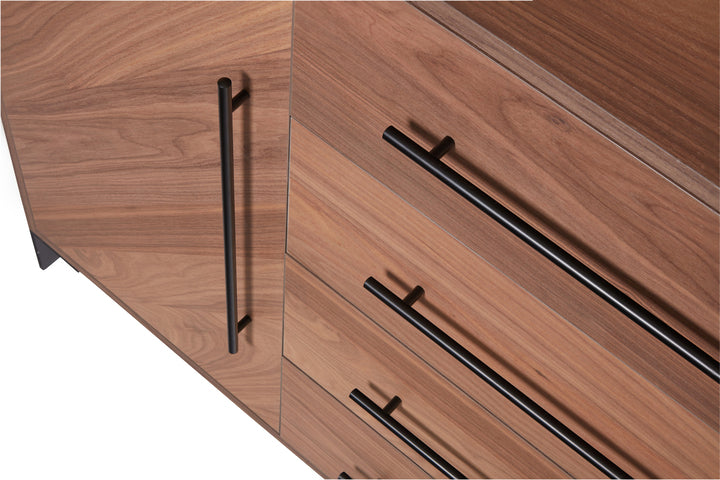 Luxury walnut material