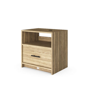 Nightstand (with Phone Charger and Auto Nightlight) - Baru