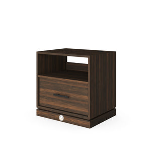 Nightstand (with Phone Charger and Automatic Nightlight) - Baru