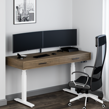 Cloud Electric Standing Desk with Drawers - Baru
