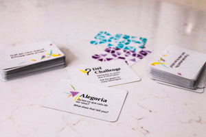 Alegoria Question Cards English-French