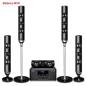 Shinco V11 5.1 home theater audio suite TV living room home surround speakers Support Bluetooth digital light coaxial