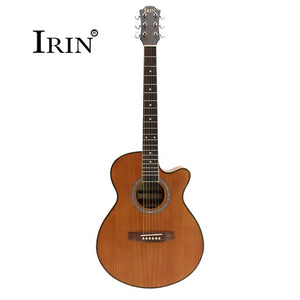 40 Inch Sapele Steel-string Acoustic Guitar Missing Angle Rosewood Fingerboard 6 String  Guitar Musical Instruments Professional