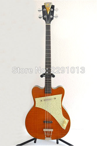 BEST Kay bass guitar with  BEST workmanship,genuine parts ,quality guarantee.Kay guitar company K5970V Free shipping