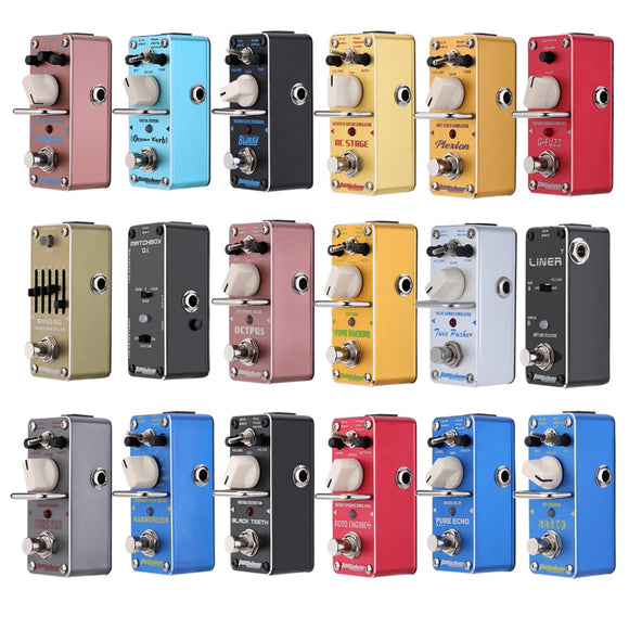 AROMA Guitar Effect Pedal Mini Single Electric Guitar Pedal  Guitar Parts & Accessories