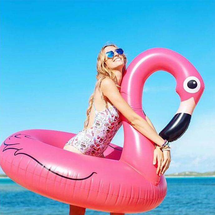 Inflatable Flamingo Floater