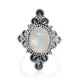 Cabochon Moonstone Ring - Vamoon Jewellery
