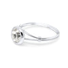 Eira Solitaire Sterling Silver Ring - Vamoon Jewellery