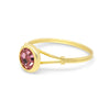 Apprielle Solitaire Sterling Silver / Gold Ring - Vamoon Jewellery