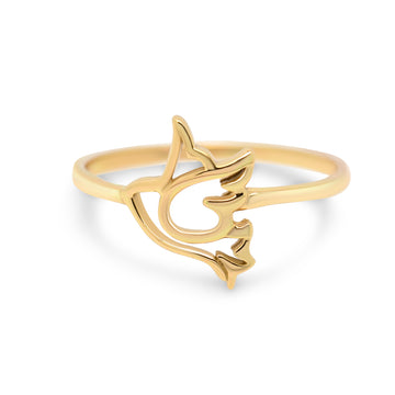 Flying Swallow Ring