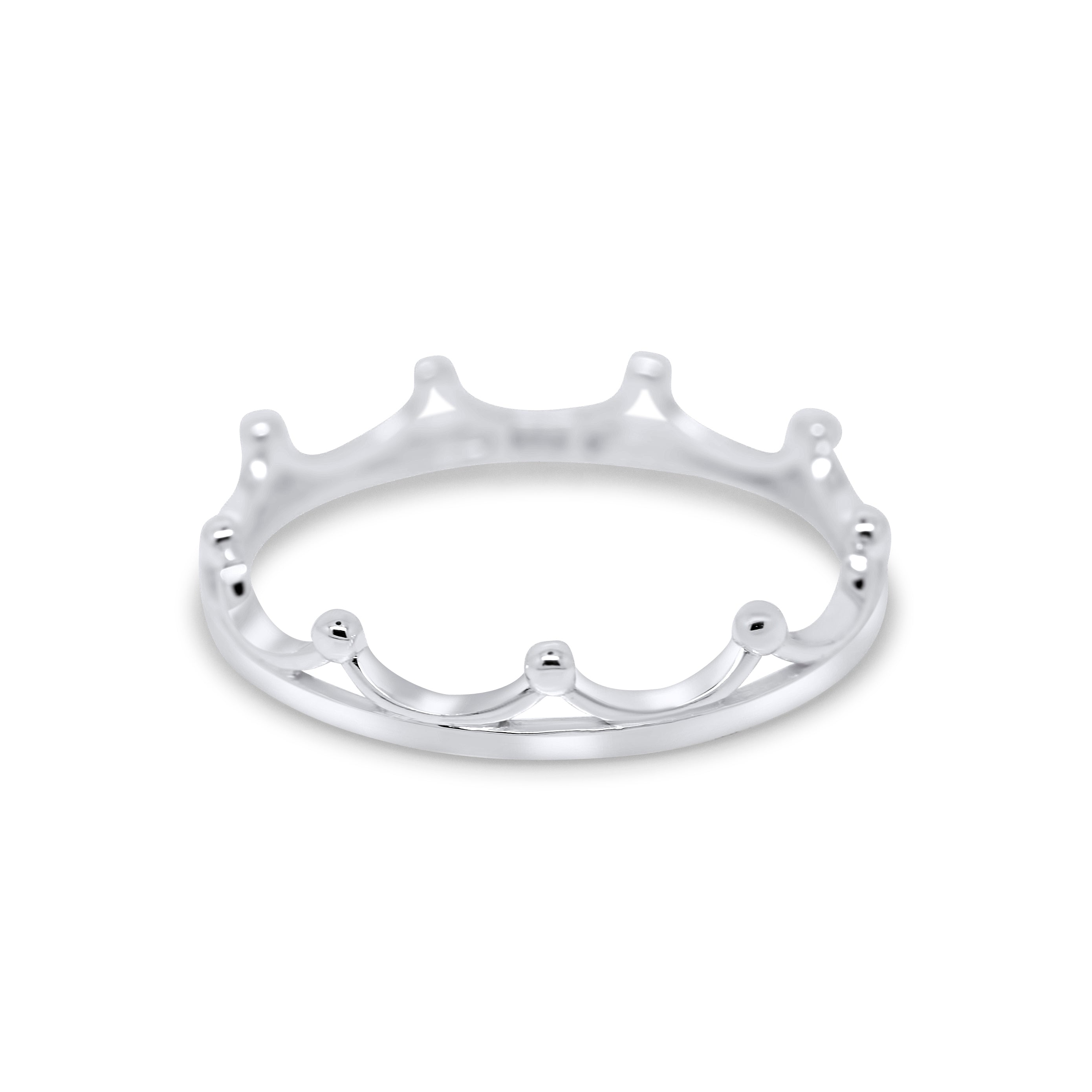 Maria Crown 925 Sterling Silver Ring