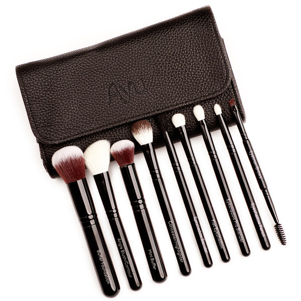 AYU 'Full Glam' Vegan Brush Set