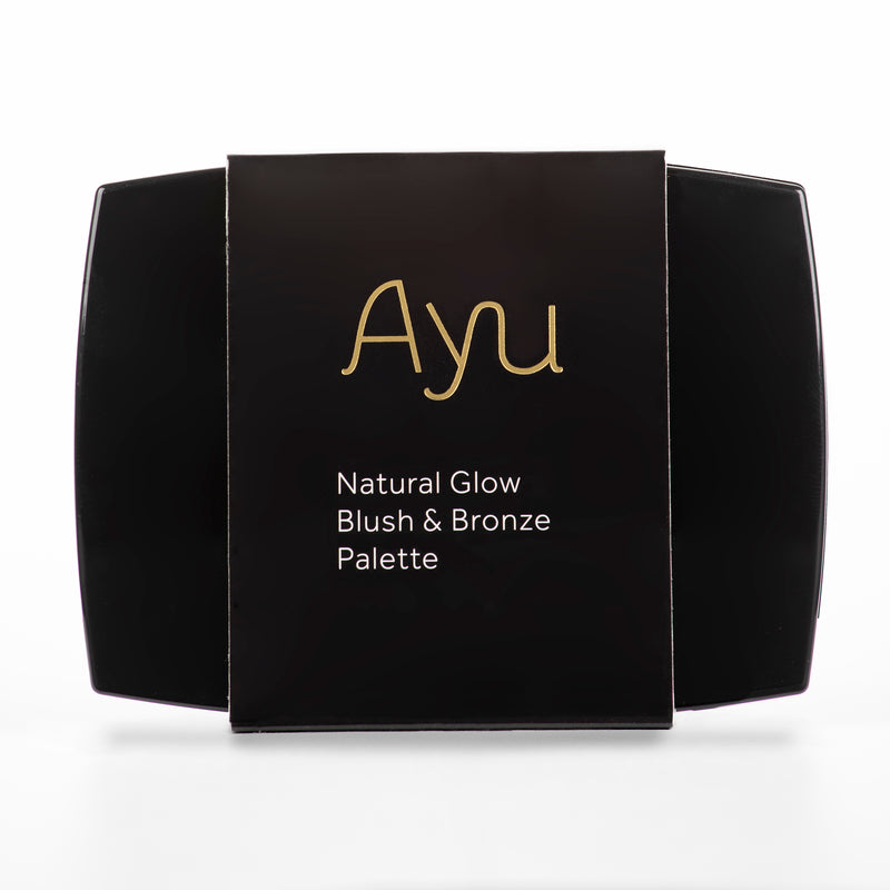 AYU 'Natural Glow' Blush & Bronze Palette
