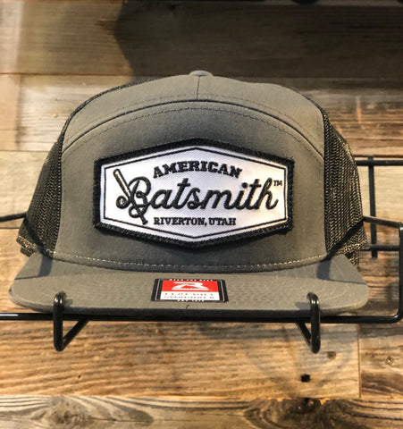 Batsmith 7 Panel Snap-back Cap