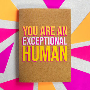 Exceptional Human - Bettie Confetti