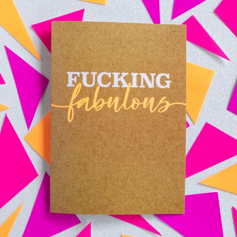 Fucking Fabulous - Bettie Confetti
