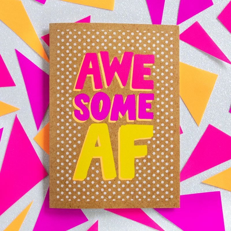 Awesome AF - Bettie Confetti