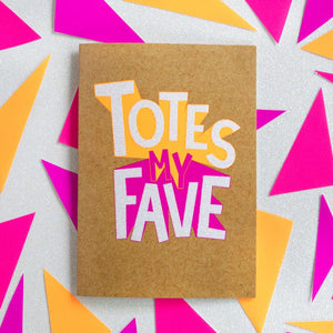 Totes my Fave - Bettie Confetti