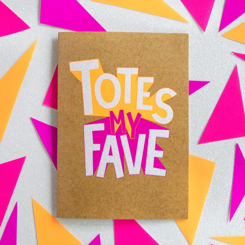 Totes my Fave-Bettie Confetti