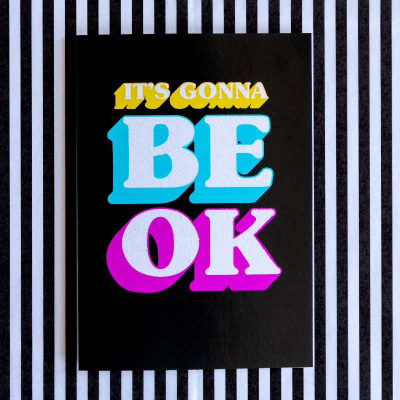Rainbow Thinking Of You Card | It's Gonna Be OK - Bettie Confetti