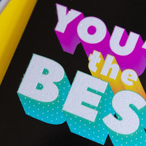 Funny Thank You Card | You're The Best - Bettie Confetti