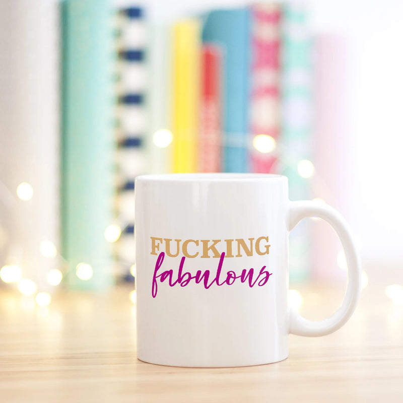 Fucking Fabulous Mug - Bettie Confetti