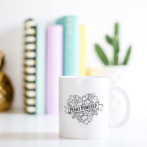 Monochrome Funny Mug | Plant Powered