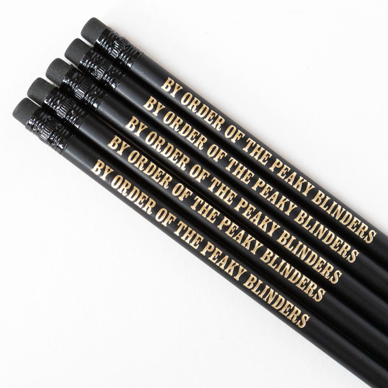 Peaky Blinders Pencil Set | By Order Of The Peaky Blinders - Bettie Confetti