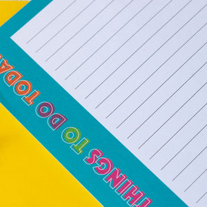Awesome Things To Do Today | A5 Notepad to do list