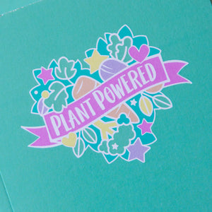 Plant Powered Vegan Notebook