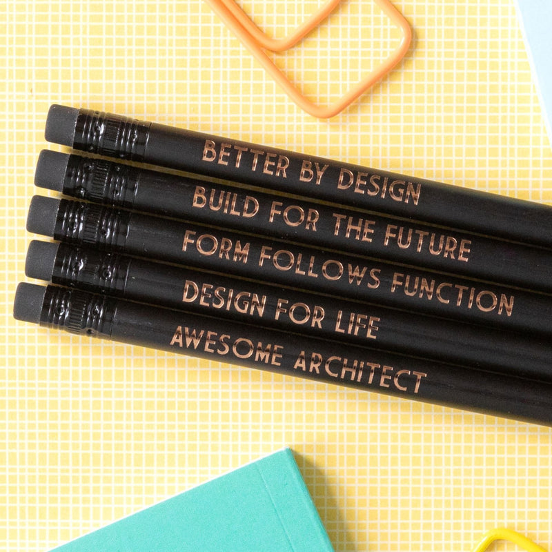 Architect Pencils | Form Follows Function - Bettie Confetti