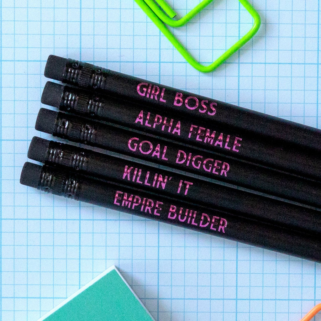 Girl Boss Pencil Set | Alpha Female