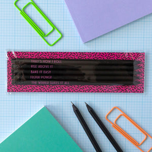 Baking Pencil Set | The Winner Bakes It All - Bettie Confetti