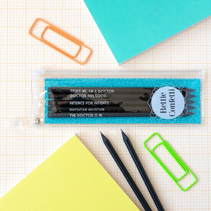 Doctor Pencil Set | Physician Magician - Bettie Confetti