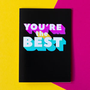 Funny Thank You Card | You're The Best