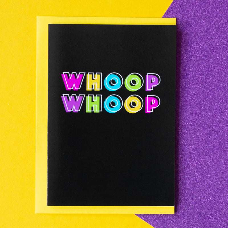 Funny Celebration Card | Whoop Whoop