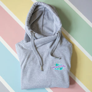 Potty Mouth Cowl Neck Hoodie - Bettie Confetti