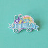 Millennial Enamel Pin - Bettie Confetti