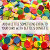 Funny Engagement Card | This Calls For Confetti-Bettie Confetti