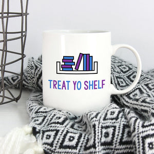 Booklovers Mug | Treat Yo Shelf - Bettie Confetti