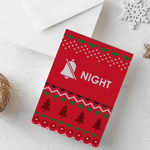 Funny Christmas Card | Silent Night - Bettie Confetti
