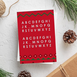 Funny Christmas Card | Noel Noel - Bettie Confetti